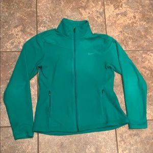Nike zipper fleece jacket